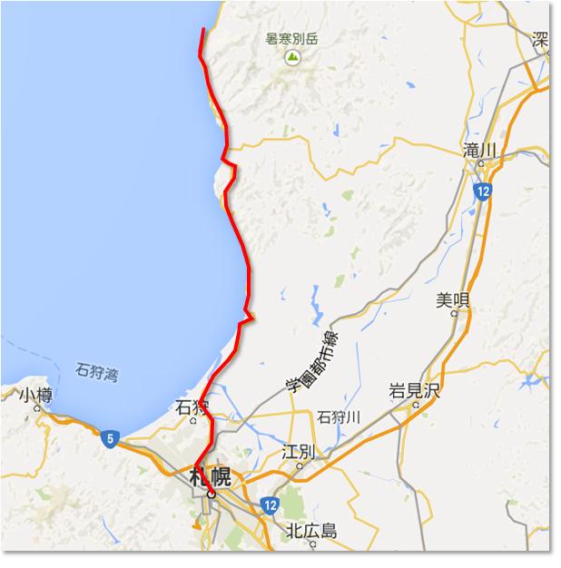 オロロンラインマップ